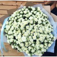 Букет 101 кустовая роза R009