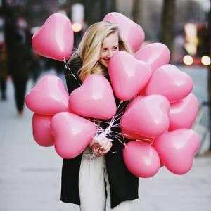 Воздушные шары сердца R772